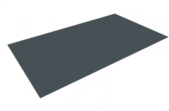 Tôle plane pour des panneaux- tuiles