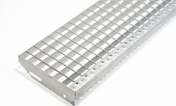 Roosters & traptreden galvanisé, opritten aluminium