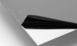 plaque inox brossé