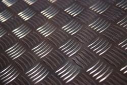 Traanplaat aluminium